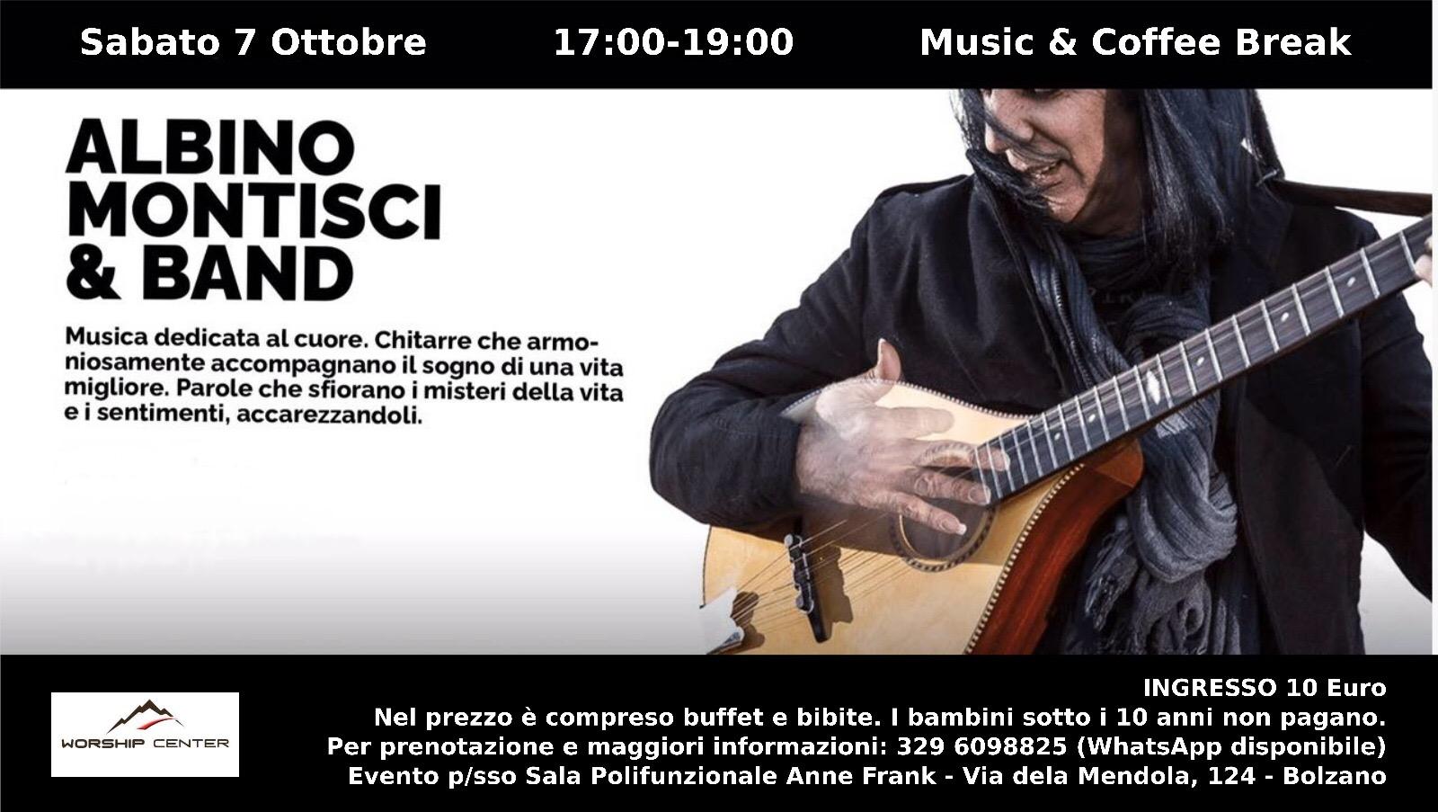 Concerto a Bolzano – Sabato 7 Ottobre
