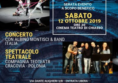 Copia di Serata evento a scopo benefico
